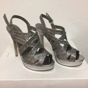 Guess Sparkly Strappy Stilettos, Authentic